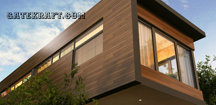 Front Elevation Cladding : High pressure laminate hpl front elevation cladding