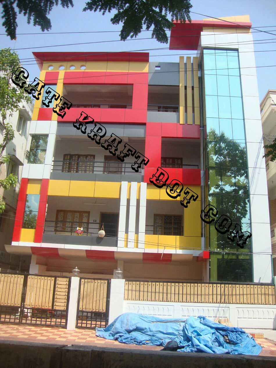 Front Elevation Acp Sheet : Acp front elevation manufacturers in delhi