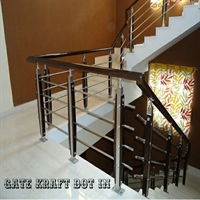 Stainless steel staircase manufacturers in delhi